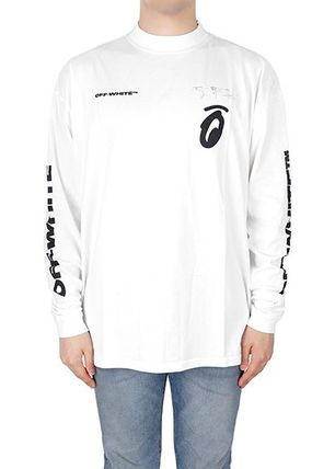 Off-White Long Sleeve Street Style Long Sleeves Logos on the Sleeves 5