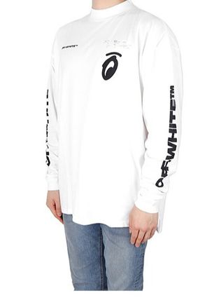 Off-White Long Sleeve Street Style Long Sleeves Logos on the Sleeves 6