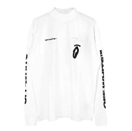 Off-White Long Sleeve Street Style Long Sleeves Logos on the Sleeves 7