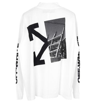 Off-White Long Sleeve Street Style Long Sleeves Logos on the Sleeves 8