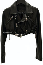 CHROME HEARTS DAGGER Biker Jackets