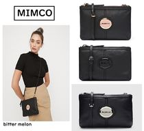 MIMCO Casual Style Leather Shoulder Bags