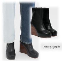 Maison Margiela Casual Style Plain Leather Ankle & Booties Boots