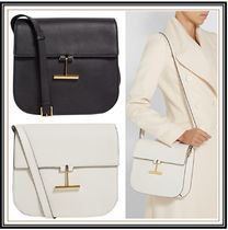 TOM FORD Plain Leather Party Style Office Style Elegant Style