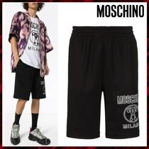 Moschino Cotton Joggers Shorts