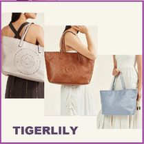 TIGERLILY Leather Totes