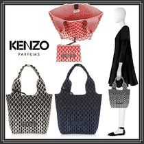 KENZO Casual Style Unisex Totes