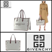 GIVENCHY Plain Leather Totes