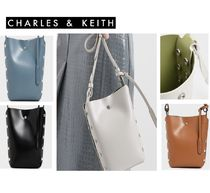 Charles&Keith Faux Fur Leather Handbags