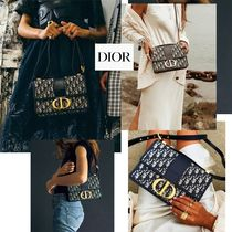 Christian Dior Casual Style Party Style Elegant Style Shoulder Bags