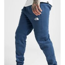 THE NORTH FACE Sweat Street Style Plain Cotton Logo Pants