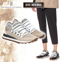 BRUNELLO CUCINELLI Casual Style Street Style Elegant Style Low-Top Sneakers