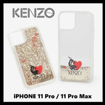 KENZO Heart Unisex Other Animal Patterns Smart Phone Cases