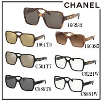CHANEL Unisex Square Sunglasses