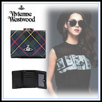 Vivienne Westwood Blended Fabrics Leather Home Party Ideas Folding Wallets