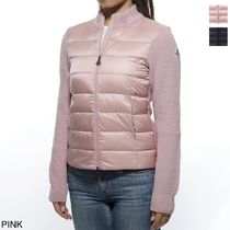 MONCLER Short Wool Plain Down Jackets