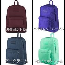 jansport Casual Style Unisex Nylon A4 Plain Backpacks