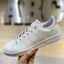 adidas STAN SMITH Unisex Blended Fabrics Street Style Kids Girl Sneakers