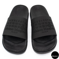 Maison Margiela Unisex Street Style Shower Shoes PVC Clothing Logo