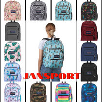 jansport Flower Patterns Star Camouflage Casual Style A4 Plain