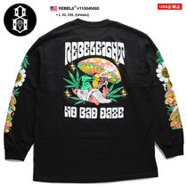REBEL8 Crew Neck Pullovers Tropical Patterns Unisex Street Style