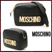 Moschino 2WAY Leather Shoulder Bags