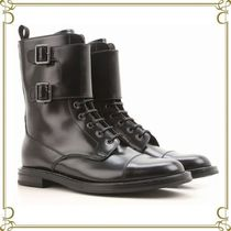 Church's Round Toe Leather Elegant Style Ankle & Booties Boots