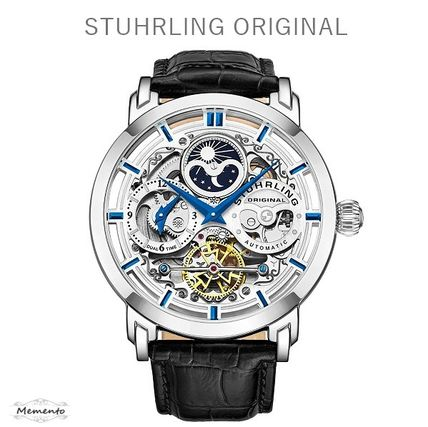 Blended Fabrics Mechanical Watch Analog Watches
