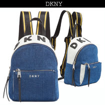 DKNY Casual Style Street Style Backpacks
