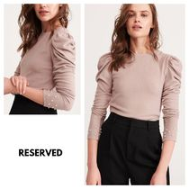 RESERVED Puffed Sleeves Shirts & Blouses