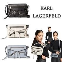Karl Lagerfeld Casual Style Shoulder Bags