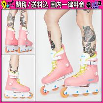 DOLLS KILL Round Toe Lace-up Shoes