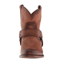 FRYE Round Toe Casual Style Plain Mid Heel Boots