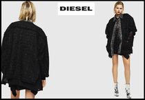 DIESEL Casual Style Blended Fabrics Street Style Plain