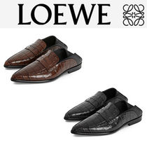 LOEWE Casual Style Other Animal Patterns Leather Elegant Style