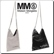 MM6 Maison Margiela Casual Style Street Style 2WAY Plain Shoulder Bags