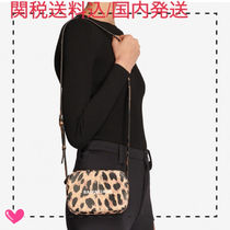 BALENCIAGA EVERYDAY TOTE Leopard Patterns Casual Style Calfskin Leather Crossbody