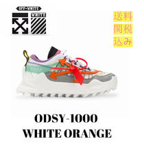 Off-White Unisex Street Style Plain Sneakers