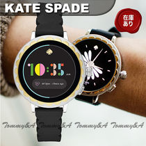 kate spade new york Casual Style Metal Round Stainless Office Style