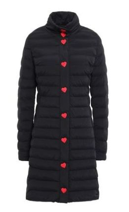 Heart Casual Style Medium Jackets