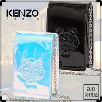 KENZO Casual Style Unisex Street Style Shoulder Bags