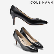 Cole Haan Plain Toe Casual Style Plain Leather Party Style