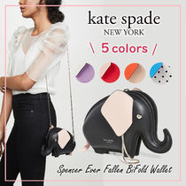 kate spade new york Casual Style 2WAY Bi-color Plain Other Animal Patterns