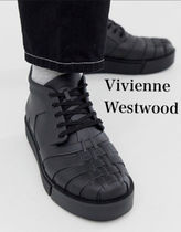 Vivienne Westwood Unisex Faux Fur Street Style Plain Home Party Ideas Sneakers