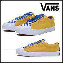 VANS Other Plaid Patterns Casual Style Unisex Suede Street Style
