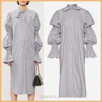 Dries Van Noten Stripes Long Sleeves Medium Dresses
