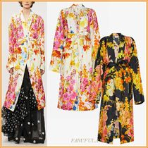 Dries Van Noten Flower Patterns Medium Coats