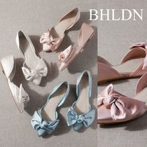 BHLDN Casual Style Plain Party Style Elegant Style Flats