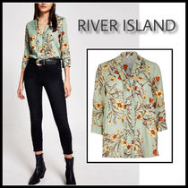 River Island Flower Patterns Casual Style Shirts & Blouses