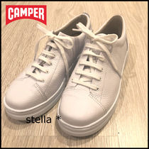 CAMPER Round Toe Rubber Sole Casual Style Street Style Plain